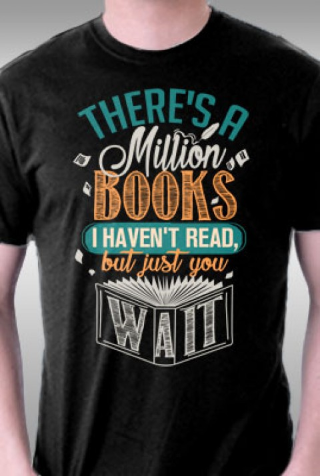 TeeFury: Million Books I Haven't Read