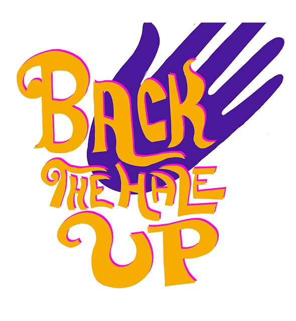 RedBubble: Back the Hale Up