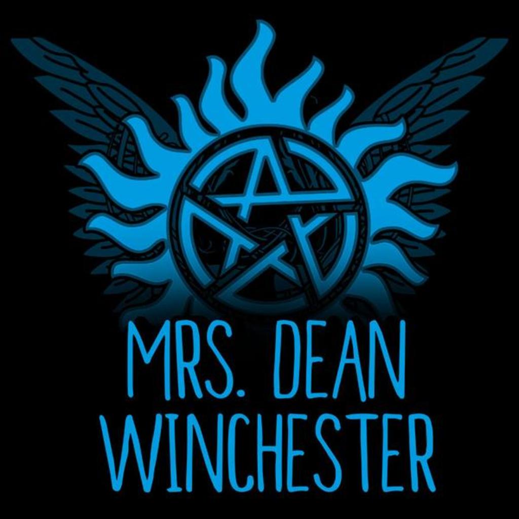TeeTurtle: Mrs. Dean Winchester