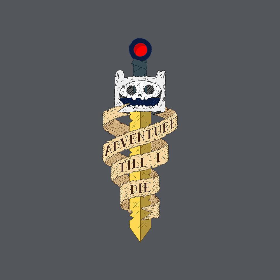 TeeFury: Adventure Till I Die