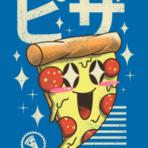 Qwertee: Kawaii Pizza