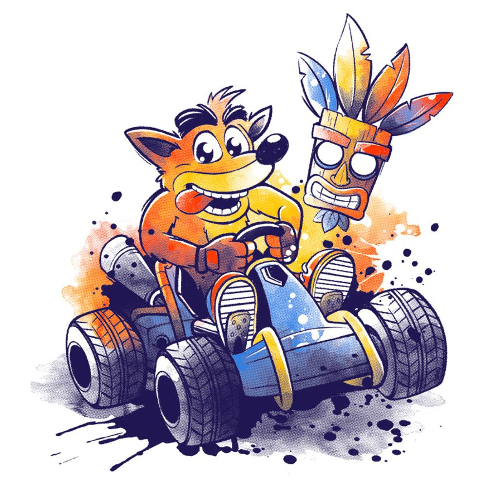 Pampling: Team Racing Watercolor