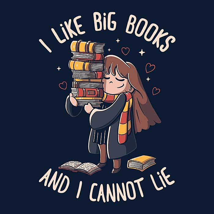 Once Upon a Tee: I Like Big Books