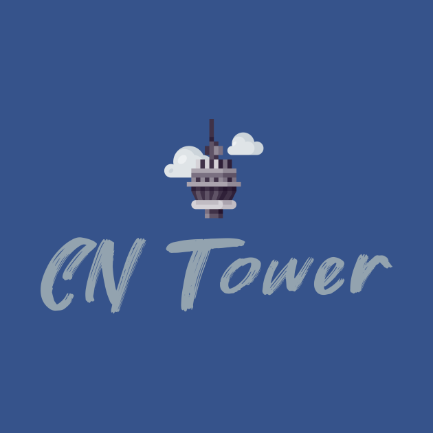 TeePublic: CN Tower souvenir