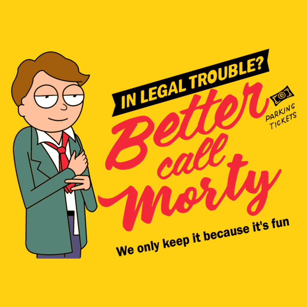 Pampling: Better Call Morty