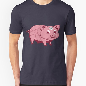 RedBubble: Pink Pig