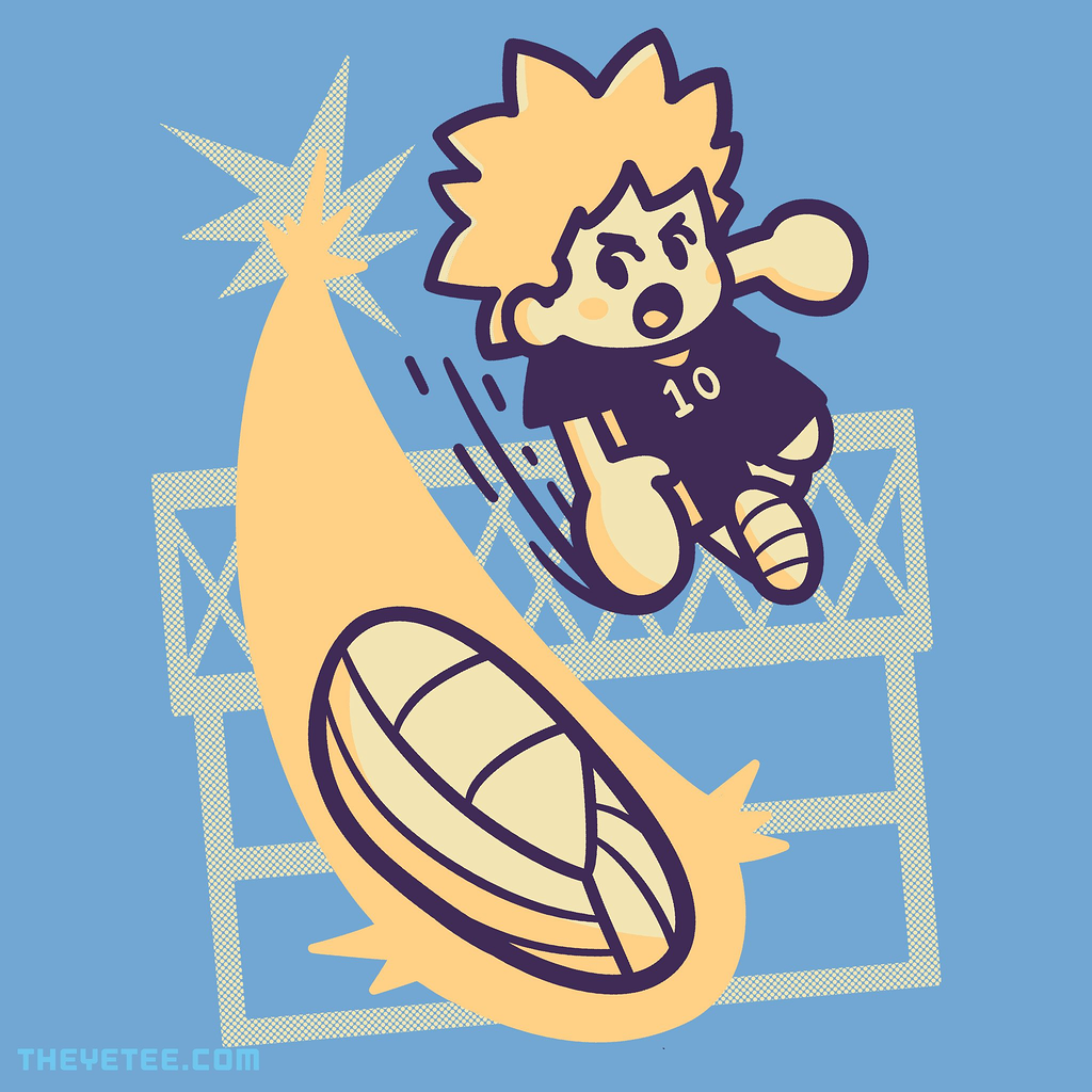 The Yetee: Spike The Ball!