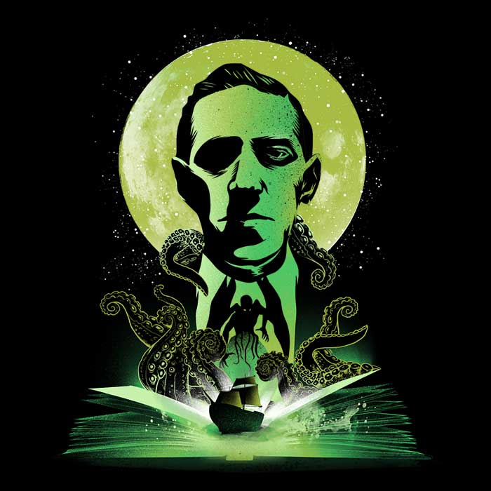 Once Upon a Tee: Book of Lovecraft
