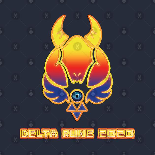 TeePublic: Delta Rune 2020 - FanGamer ArtWork