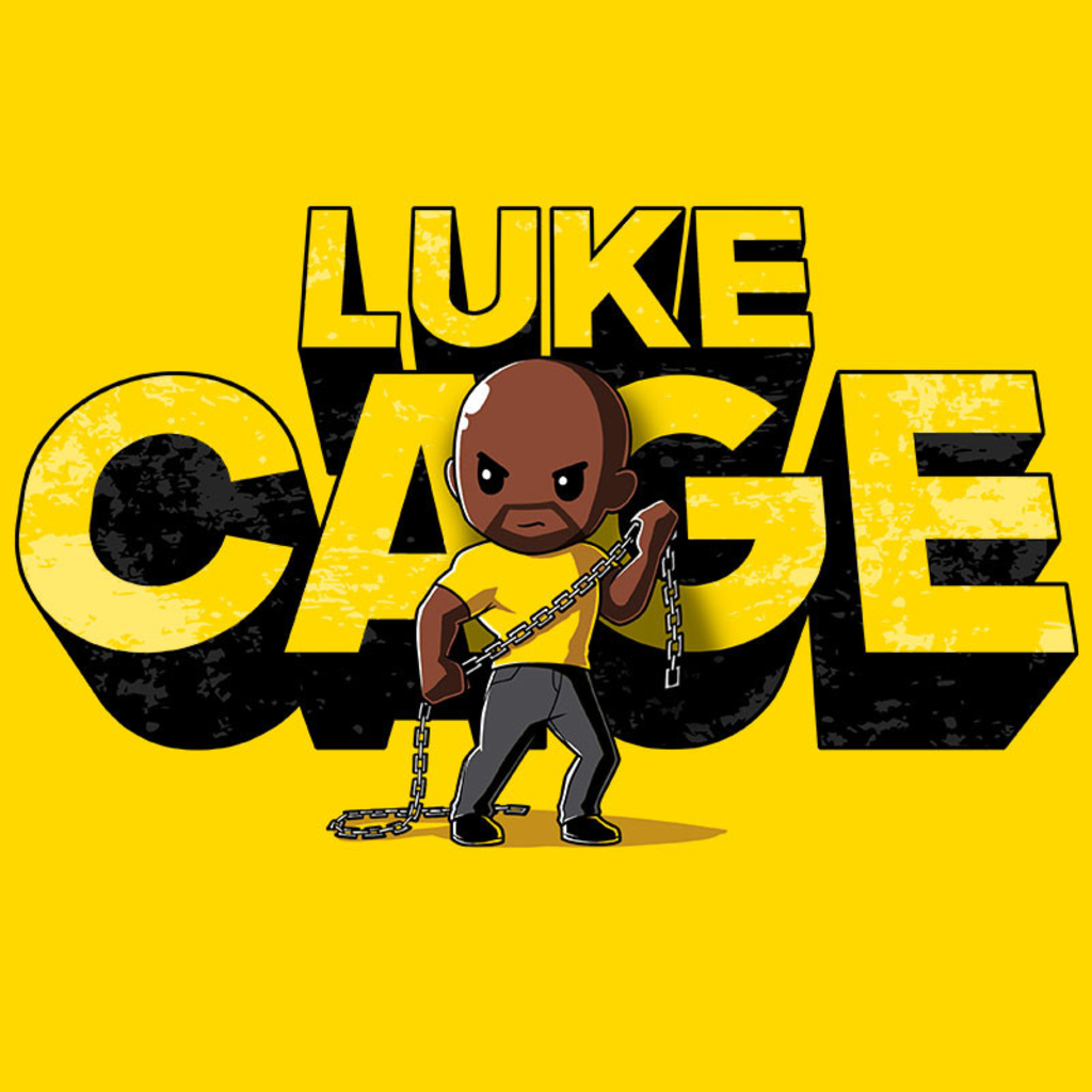 TeeTurtle: Luke Cage Shirt