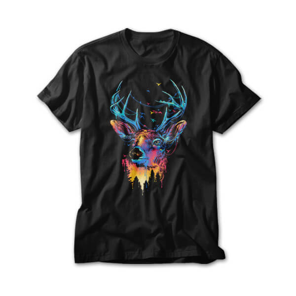 OtherTees: Colorful Deer