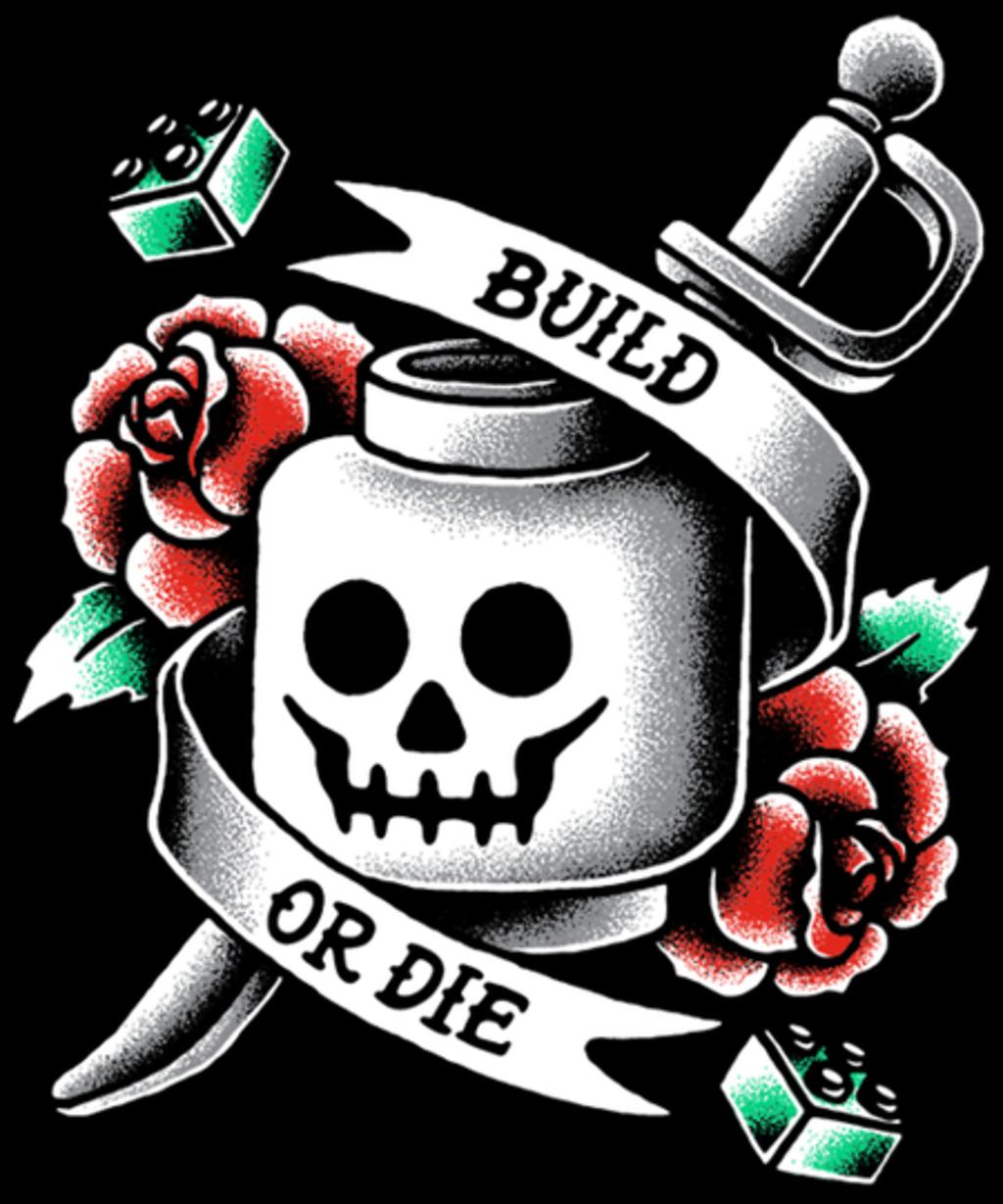 Qwertee: Build or Die!