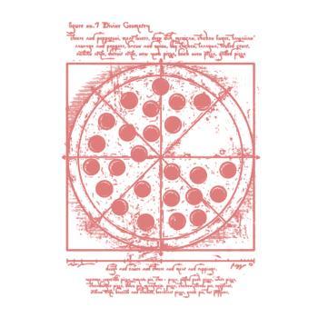 BustedTees: Vitruvian Pizza