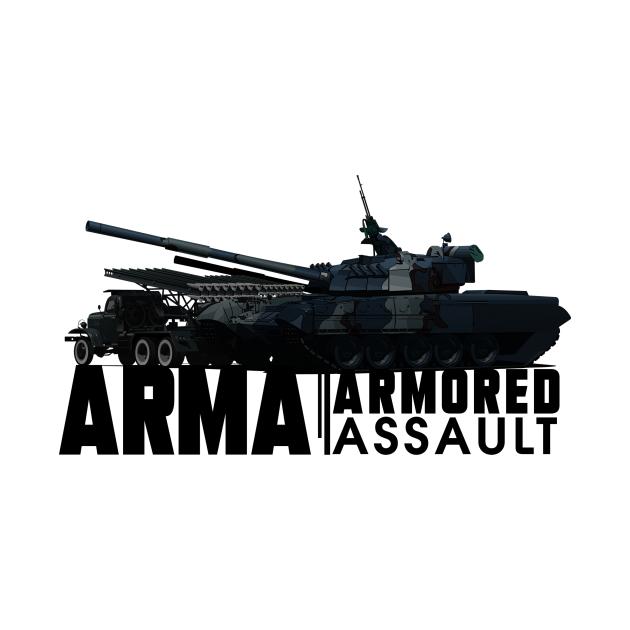 TeePublic: ARMA ARMORED ASSAULT