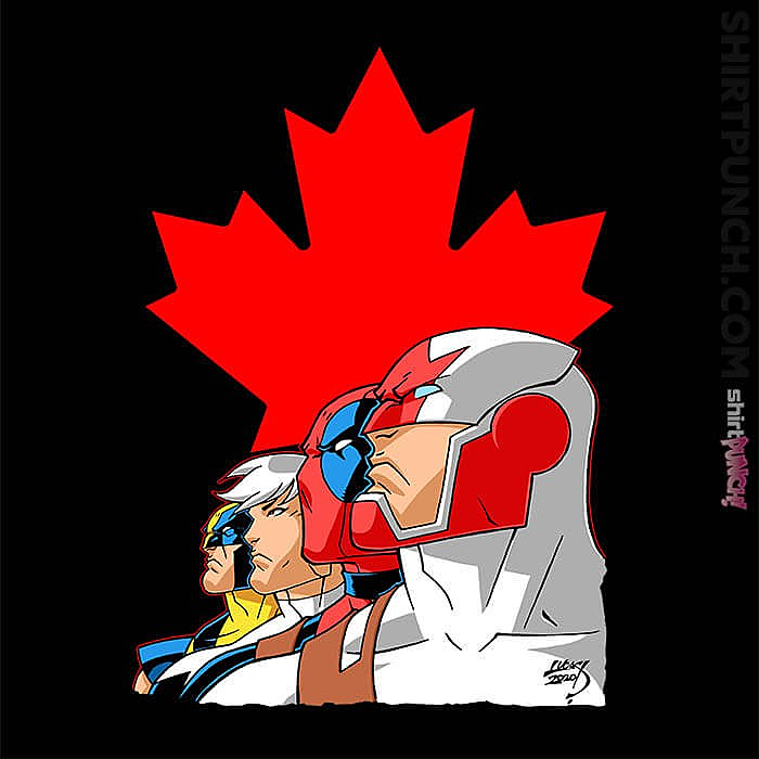 ShirtPunch: Captain Canuck And Team Canada