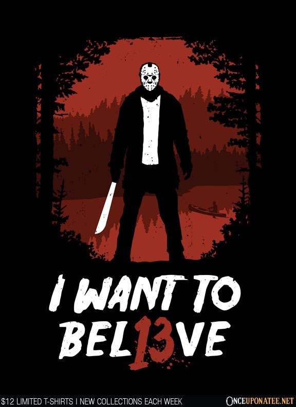 Once Upon a Tee: Jason Lives!