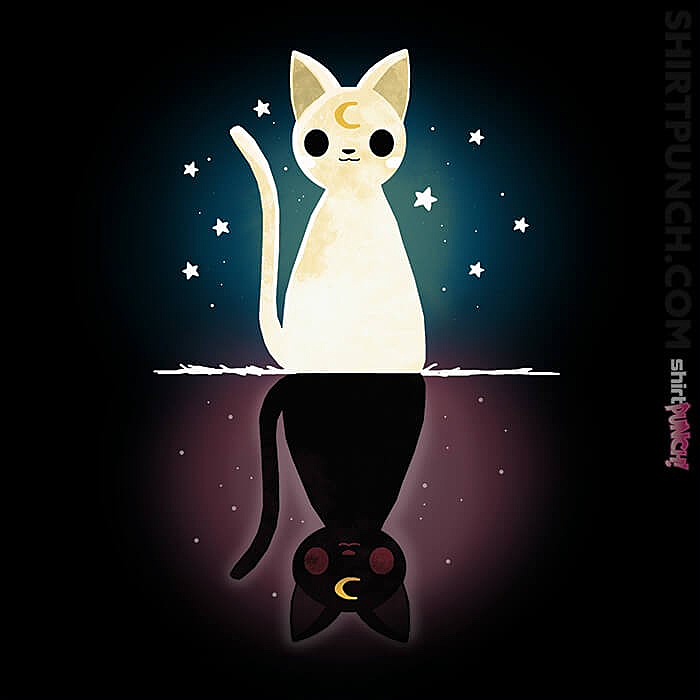 ShirtPunch: Cat Moon Eclipse