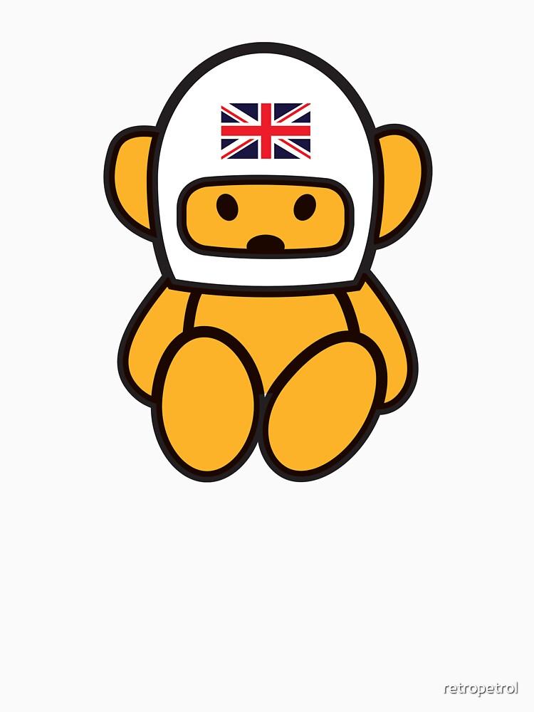 RedBubble: 1975 Hesketh Racing Grand Prix team Teddy Bear emblem