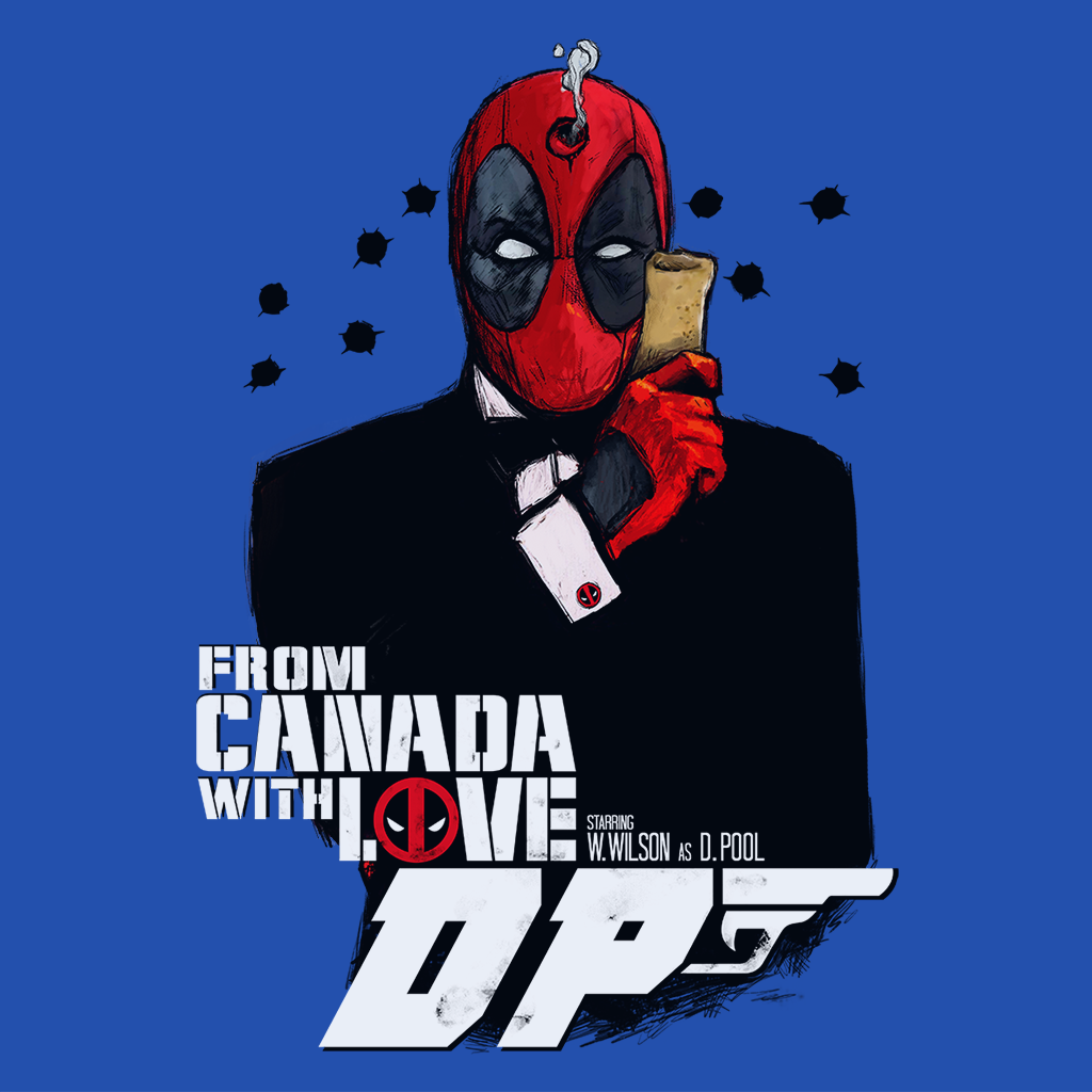 Pop-Up Tee: From Canada with Love
