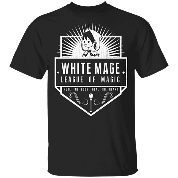 Pop-Up Tee: White Mage League Of Magic