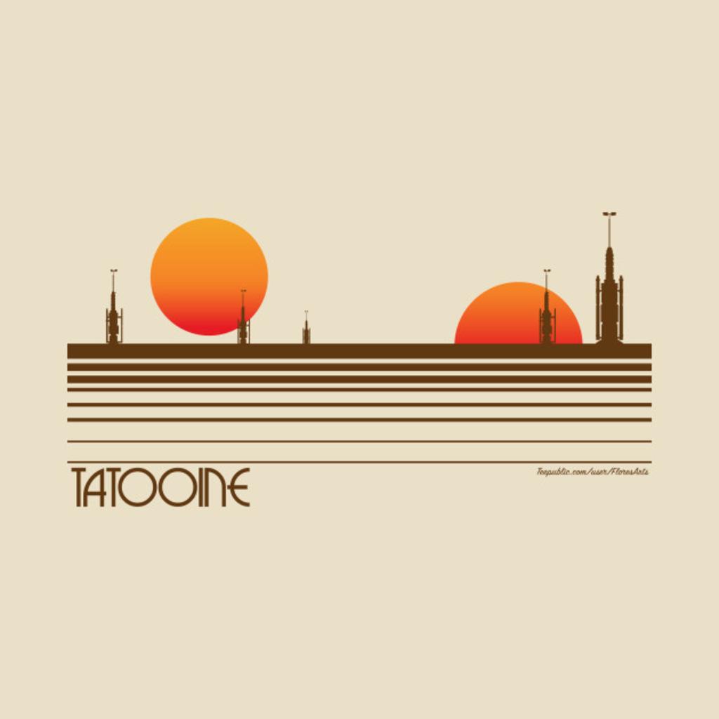 TeePublic: Visit Tatooine