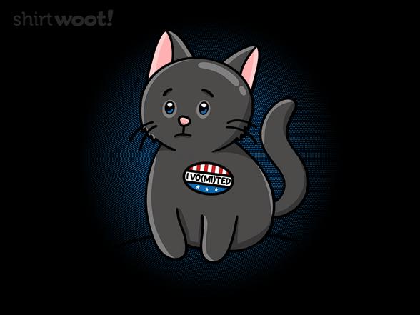 Woot!: I Vomited Sticker