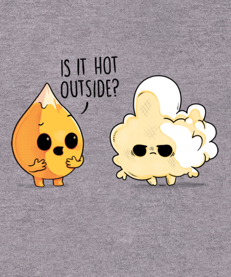 Qwertee: Hot Outside