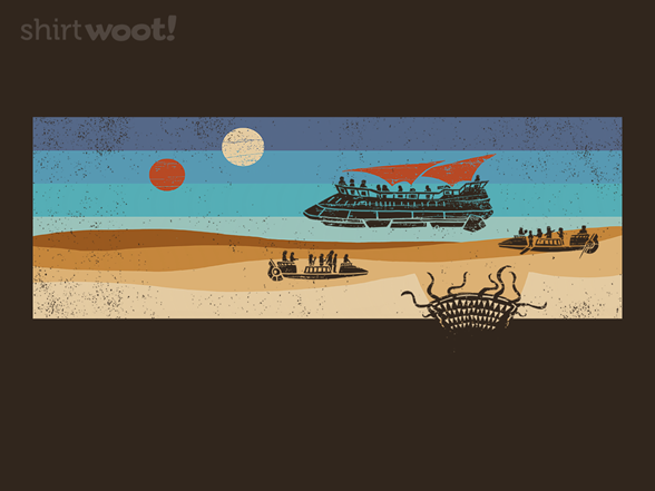 Woot!: Vintage Sand Monster
