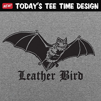 6 Dollar Shirts: Leather Bird