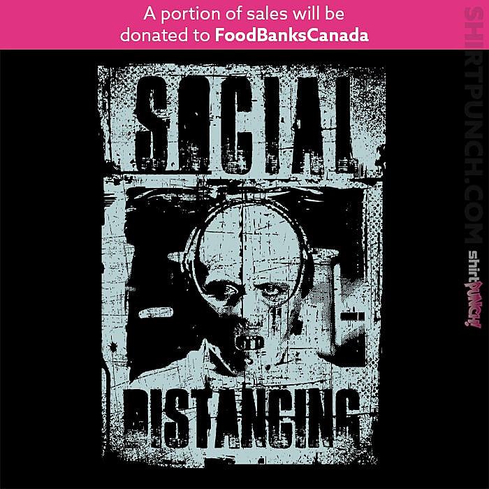 ShirtPunch: Social Distancing