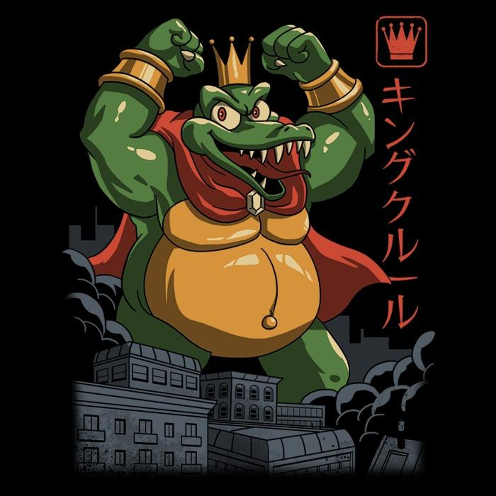 Once Upon a Tee: Kremling Kaiju