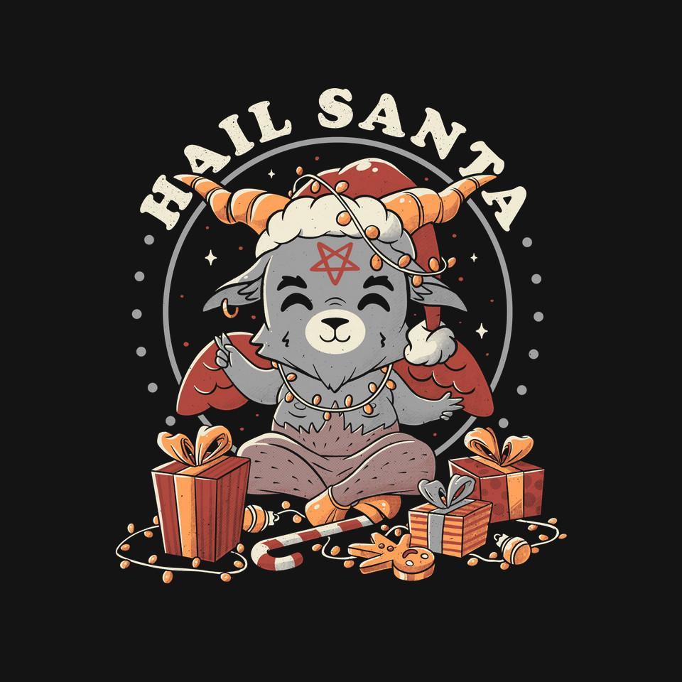 TeeFury: Hail Santa Claus