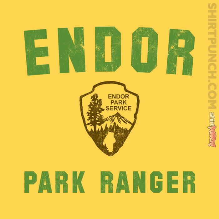 ShirtPunch: Endor Park Ranger