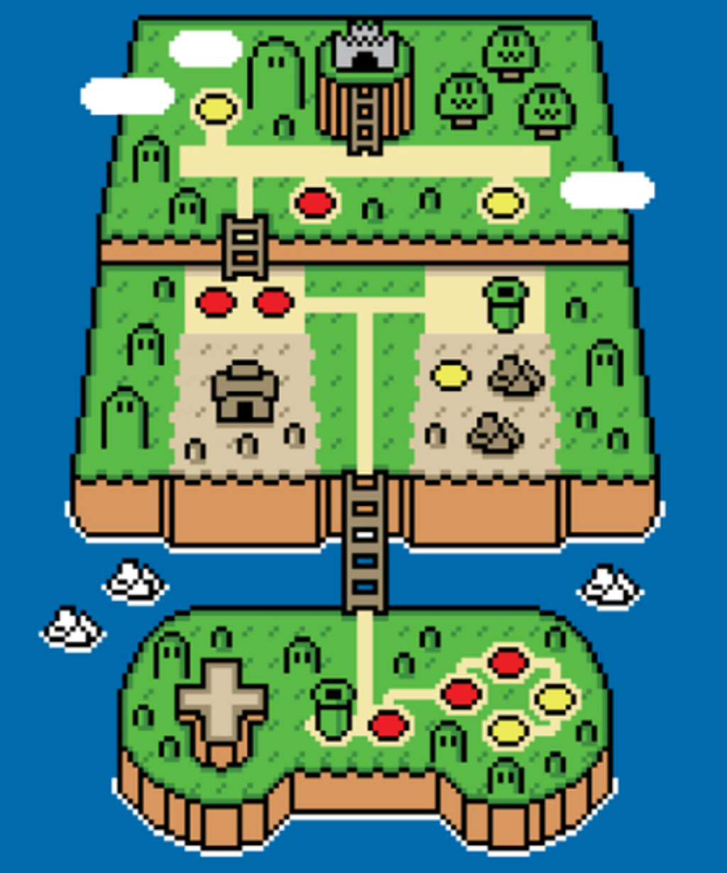 Qwertee: Super Console World