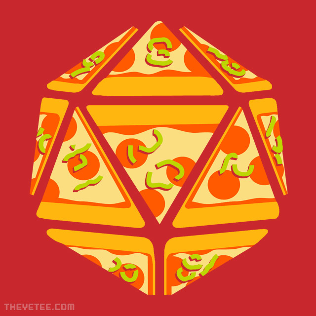 The Yetee: Pizza Roll