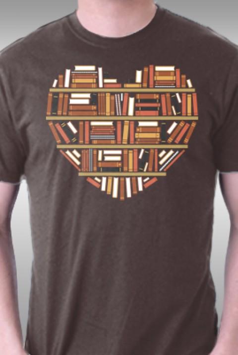 TeeFury: I Heart Books