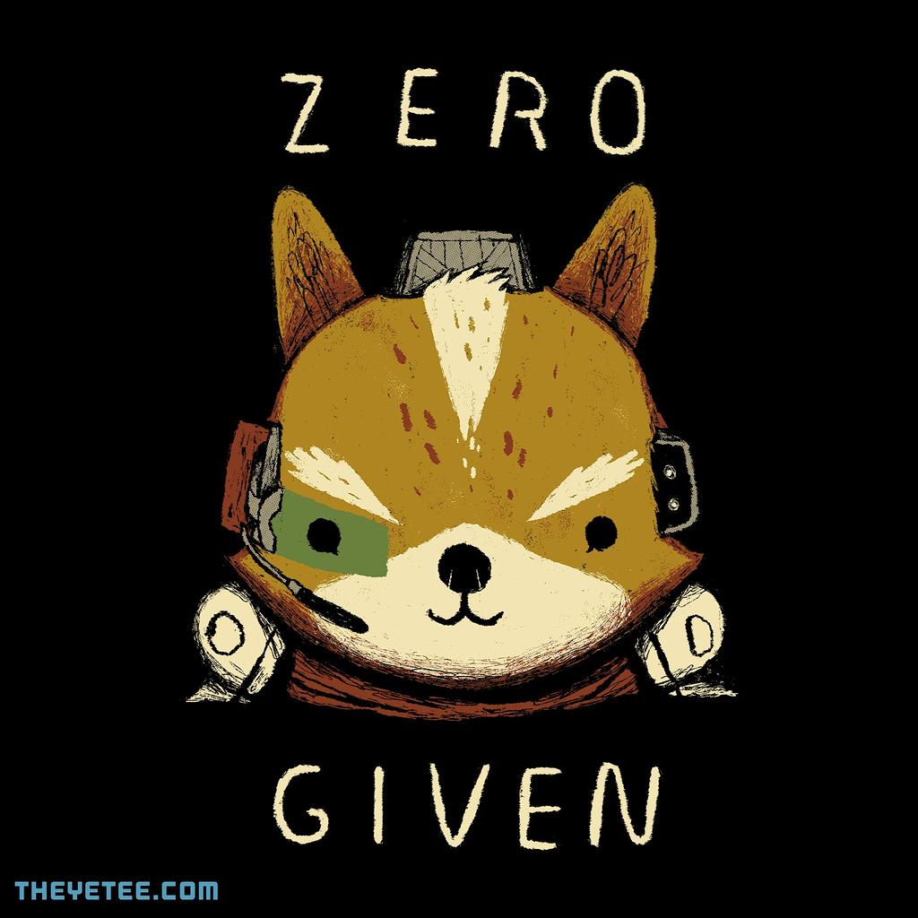 The Yetee: zero fox given