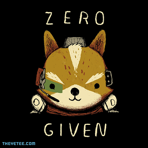 The Yetee: zero fox given