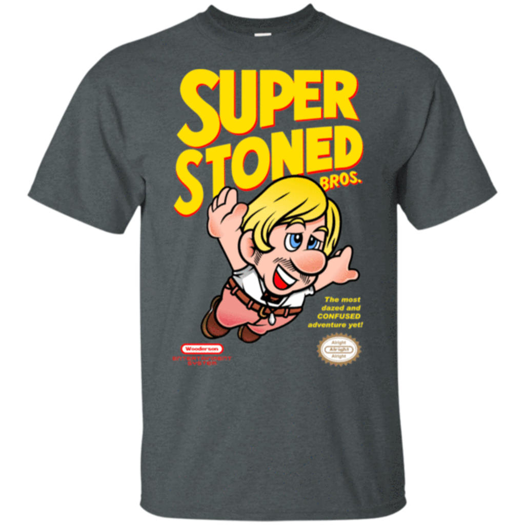 Pop-Up Tee: Super Stoned Bros
