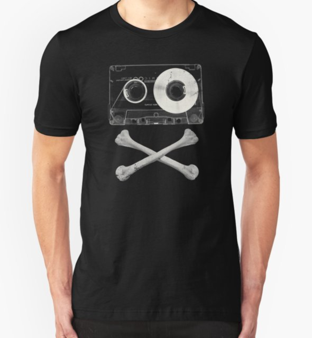 RedBubble: Pirate Music