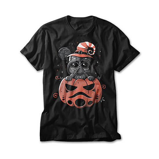 OtherTees: Dark Side Pumpkin