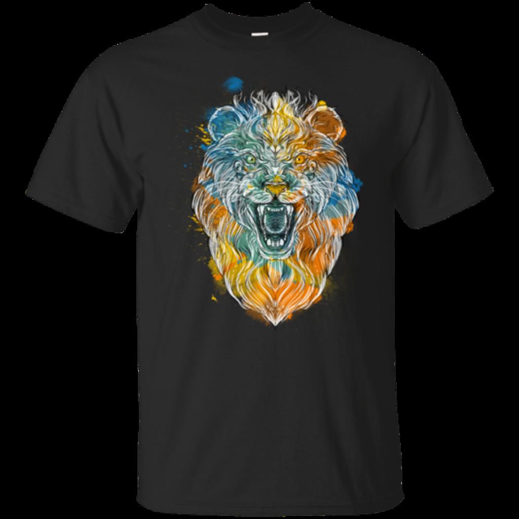 Pop-Up Tee: Ornamental Lion