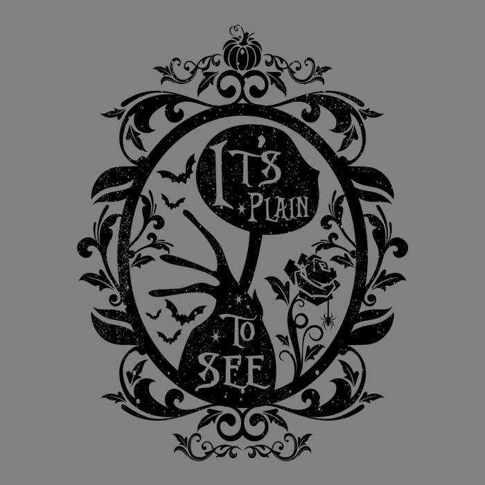 Once Upon a Tee: Plain to See