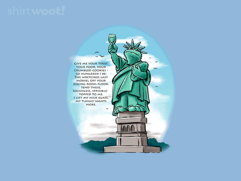 Woot!: Statue of Cookie Tee