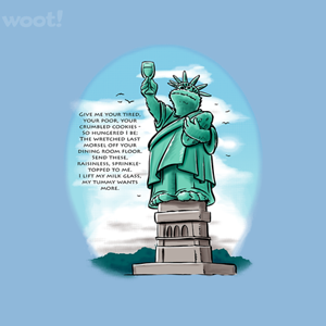 Woot!: Statue of Cookie Tee