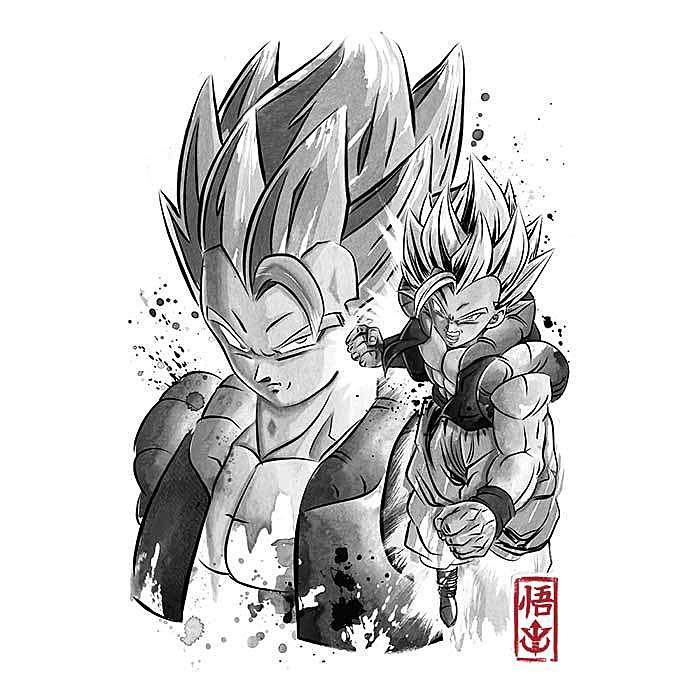 Once Upon a Tee: Fusion Warrior Sumi-e