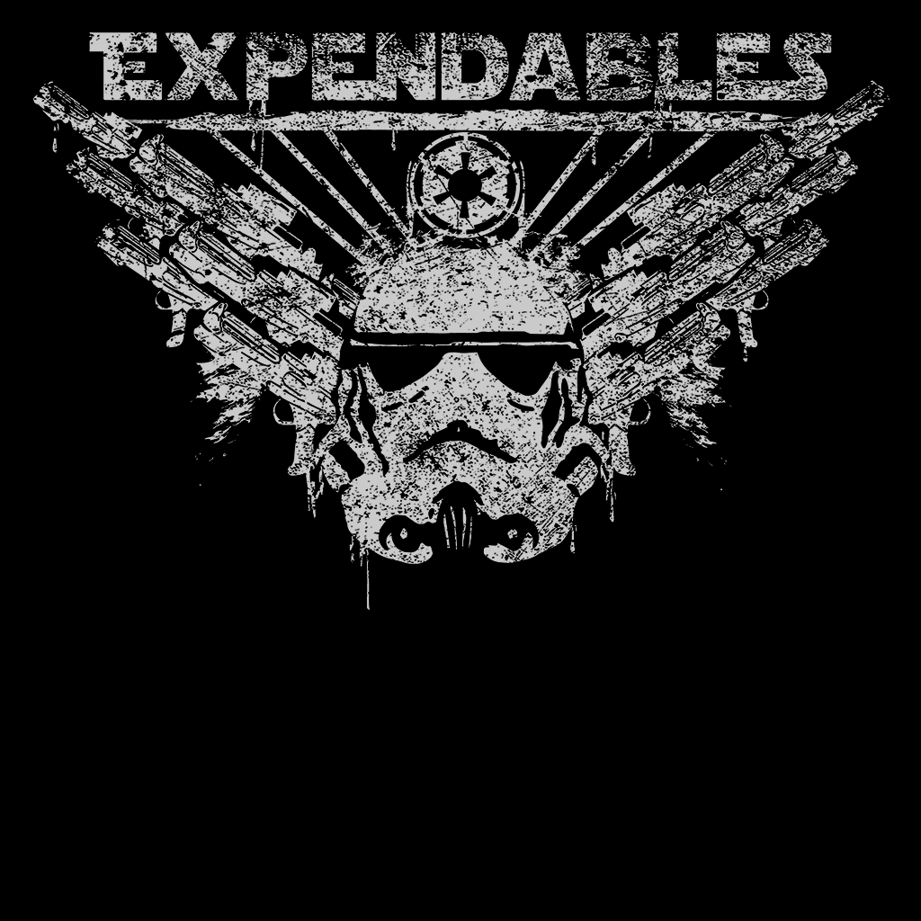 Pop-Up Tee: Expendable Troopers