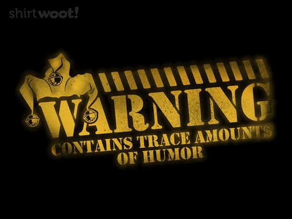 Woot!: Comedy Warning