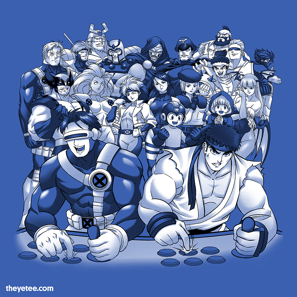 The Yetee: fun with old friends