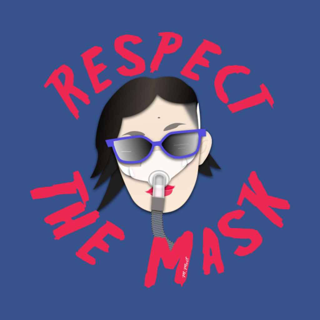 TeePublic: Respect the Mask